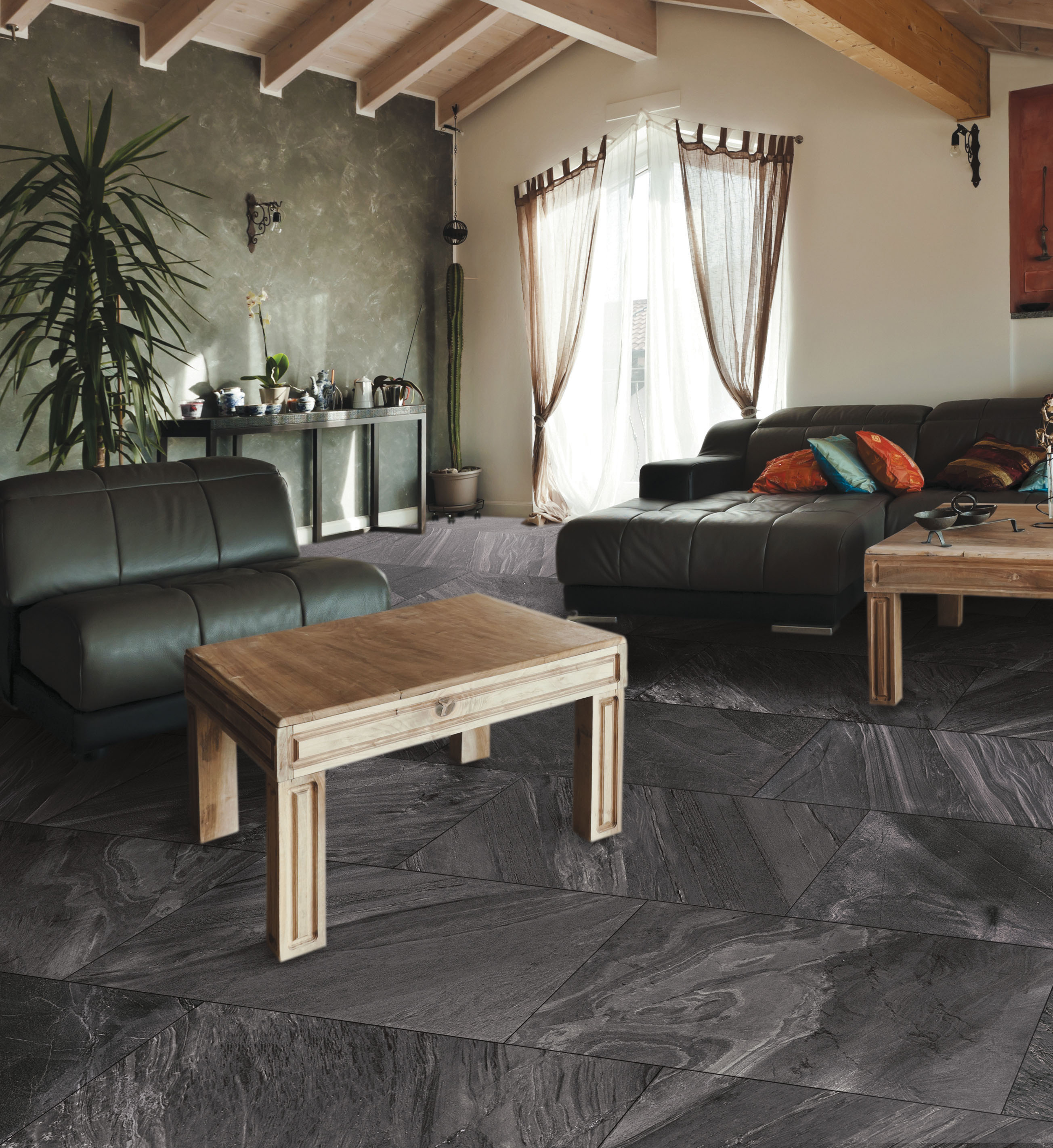 Cosmic Stone Aesthetic Porcelain Tile Collection