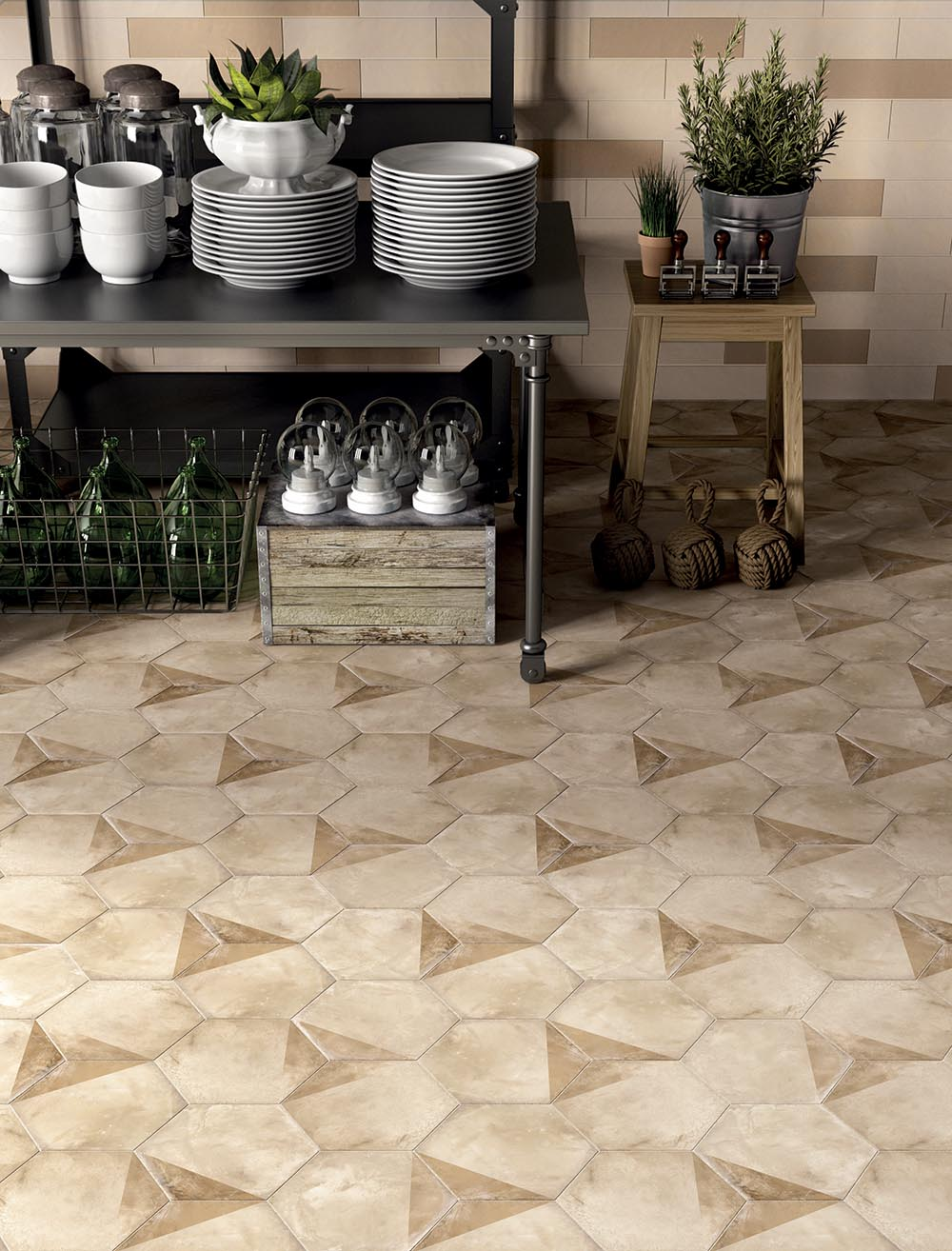 Terra Terracotta-Cement Look Porcelain Tiles | Creative Materials